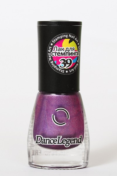 DL Stamping 39 - Metallic purple