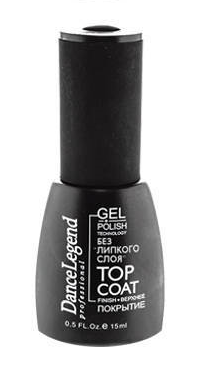 DL Top Coat gel polish без липкого слоя