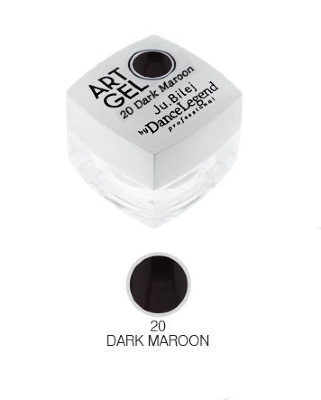 Ю. Билей Art Gel 20-Dark Maroon